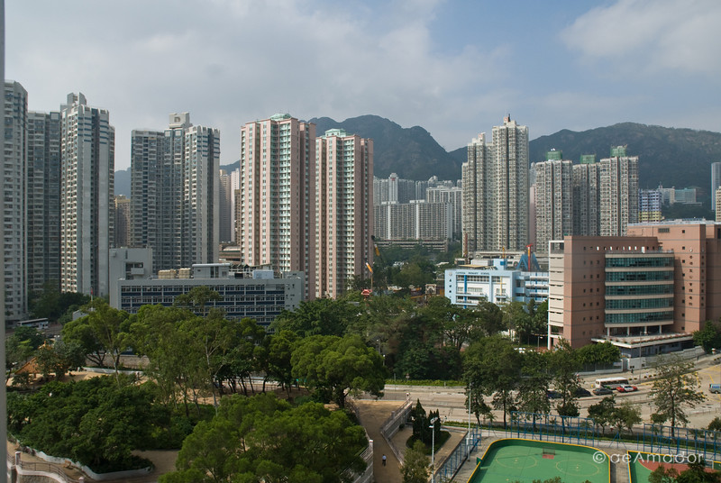 aeamador©-HK08_DSC0008      Hong Kong. Kowloon. San Po Kong. Lots of concrete and tall apartment buildings abound.