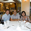 aeamador©-HK08_DSC0111. Kowloon. (  )<br /> This is my host Samuel (center) and wife Leona. That's me on the left. They brought me to this excellent market where you pick you live underwater delicacy and they cook it up for you. Very fresh.      Hong Kong. Kowloon.