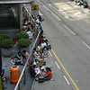 aeamador©-HK08_DSC0039  Hong Kong, downtown area, near ifc tower. I was very impressed by the affluence evidenced in this area. Hong Kong is quite a chic and fine place.<br /> These are Filipino maids that fill the entire downtown public spaces (sidewalks, streets and plazas) for picnicking. There are thousands of them, spread all over. No husbands, no men, no children. Just the women. Sunday is their day off.