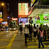 aeamador©-HK08_DSC0207      Hong Kong. Kowloon. Tsim Sha Tsui. Though not to be compared with what you find in Hong Kong island, it is quite a vibrant and lively city. People fill up the streets and sidewalks day and night for shopping, entertainment and more. Signs make a great show, especially at night, giving vibrancy and character to the city.