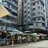 aeamador©-HK08_DSC0023     Saukiwan market. Saukiwan, Hong Kong island. <br /> Markets from behind.