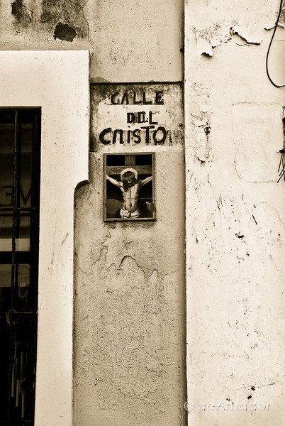 """Cristo Street Sign""<br /> _DSC0054aeamador©-OSJM1"