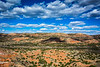 Palo Duro Canyon is called the Grand Canyon of Texas.  It is on average 6 miles across, but is both wider and narrower in many places.
