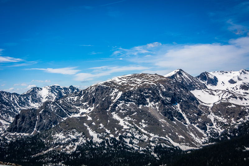 The Rocky Mountains are rugged and I can only imagine the number of square miles where no one has ever set foot.
