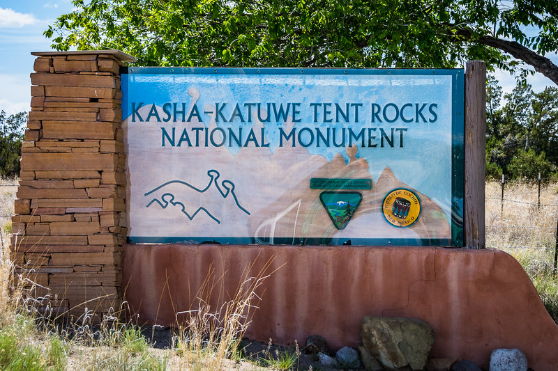Kasha-Katuwe Tent Rocks National Monument is on Indian land, but is co-managed by the Bureau of Land Management, the National Park Service, and local tribes.