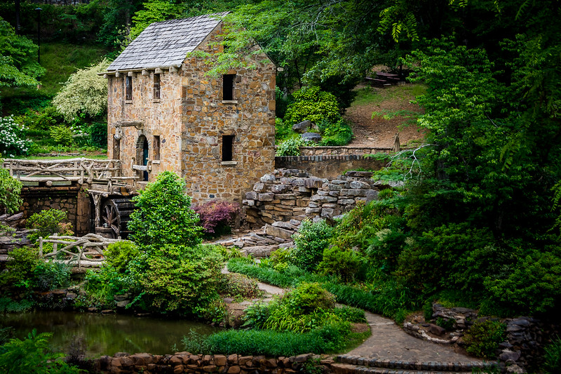 "The Old Mill appeared in the opening credits of the 1939 movie, ""Gone With the Wind."""