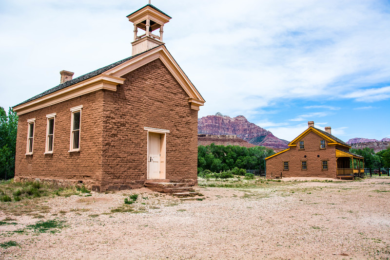 Grafton Ghost town on the way to Zion
