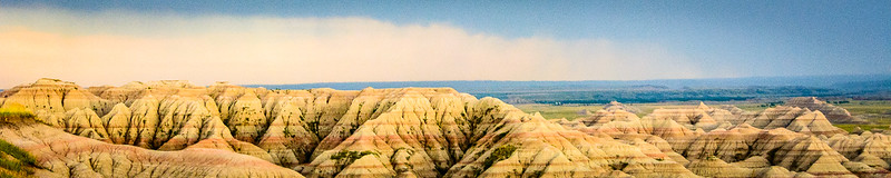 The lines in the geology from multiple layers of sediment over millions of years just begs for a panorama.