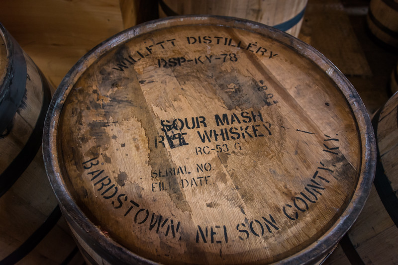 Example of a labeled barrel