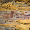 Pictographs on one trail to the hot springs