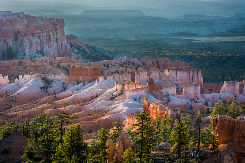 Bryce is known for its interesting formations.