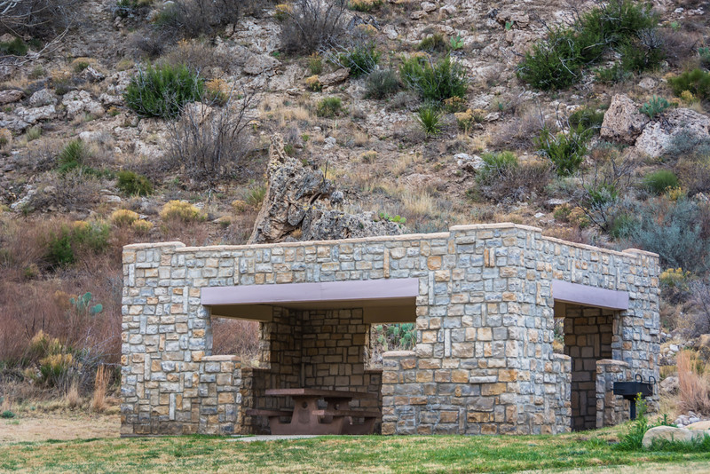 One of the picnic shelters.  More evidence of the Civilian Conservation Corp (CCC).