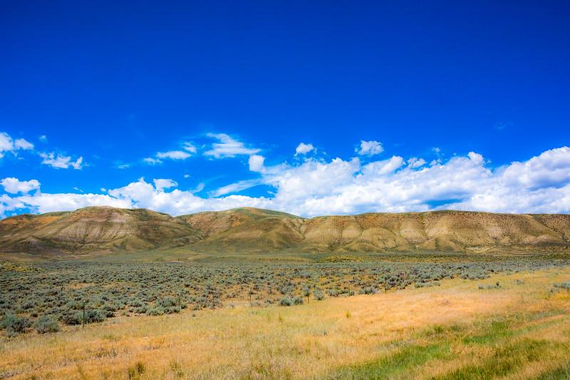 Chief Joseph Scenic Highway is part of Wyoming highway 296.