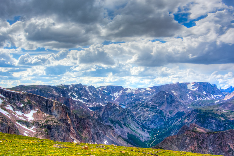 Some of the mountains in this area must have served as the namesake for the Beartooth Scenic Highway.