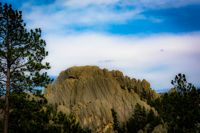 Different looking rock spires