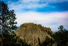 Different looking rock spires