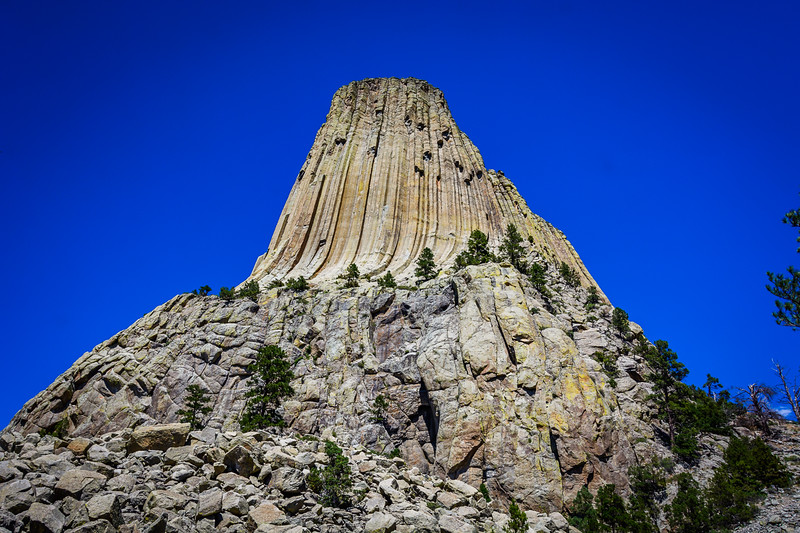 The monolithic rock formation is the main attraction, and the site is relatively small as nature-based national monument.  As a result it is often an addon stop instead of a final destination.  However, there is excellent commerical camping in the area.