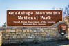 Guadalupe Mountains National Park is in Texas near the border with New Mexico.