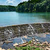 The dam at Lake Woodhaven