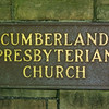 There is a Cumberland Presbyterian Church in the park.