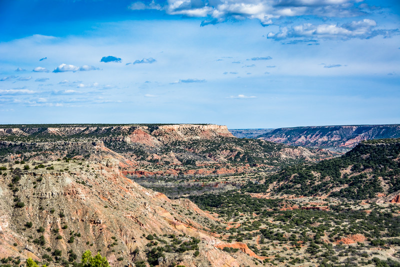 The canyon is about 120 miles long and 800 feet deep in many places.
