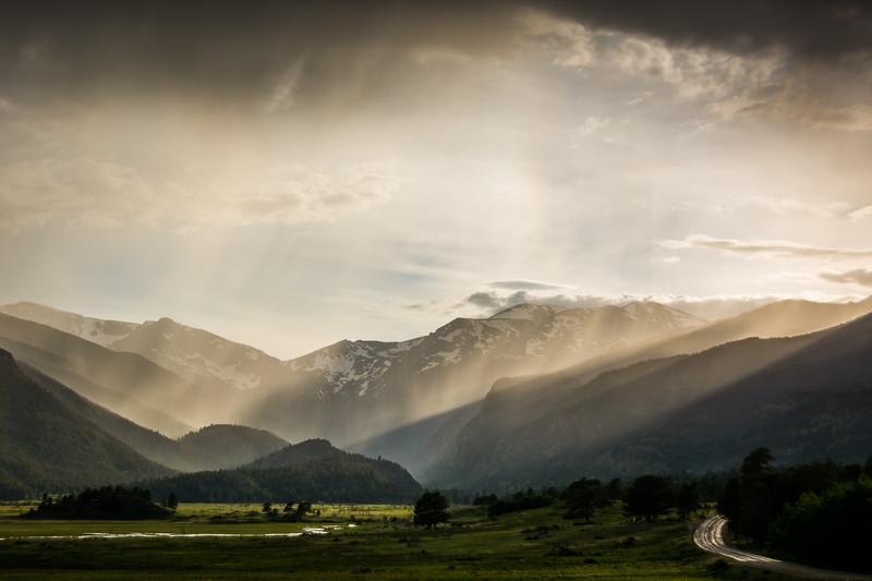 Rain on the Rockies