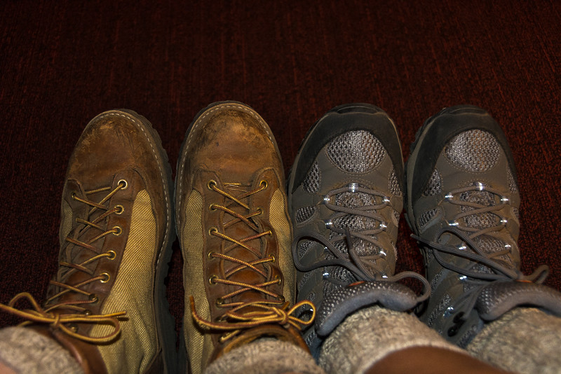 Our boots have collected the dust of another national park