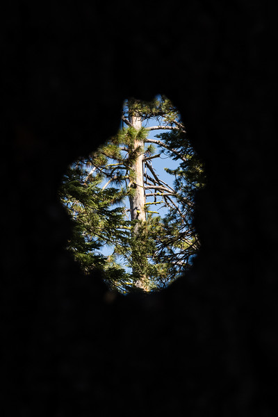 Sometimes the hole provides a different perspective.  Like lots of life, what you see depends on how you look at things.