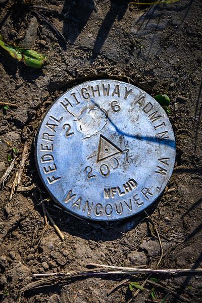 Geologic Survey Marker