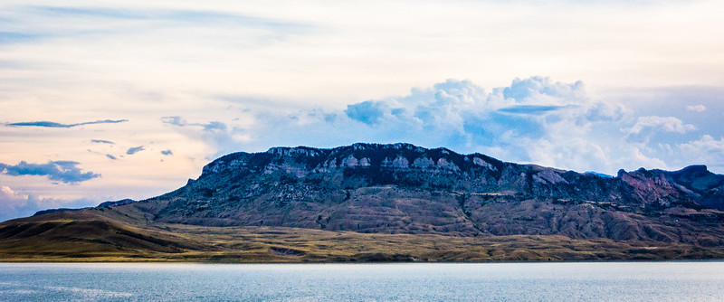 Another example of amazing clouds over the Buffalo Bill Reservoir