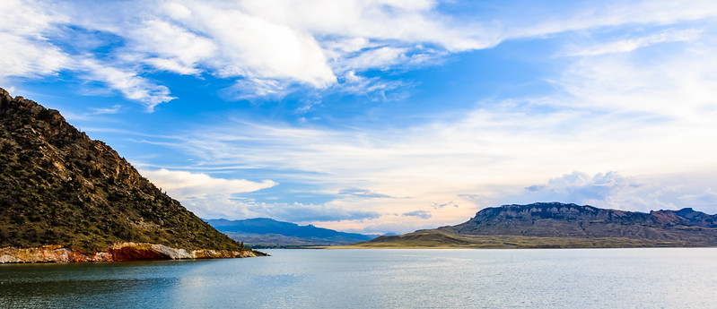 They have raised the level of the Buffalo Bill Reservoir a couple of times by increasing the height of the dam.
