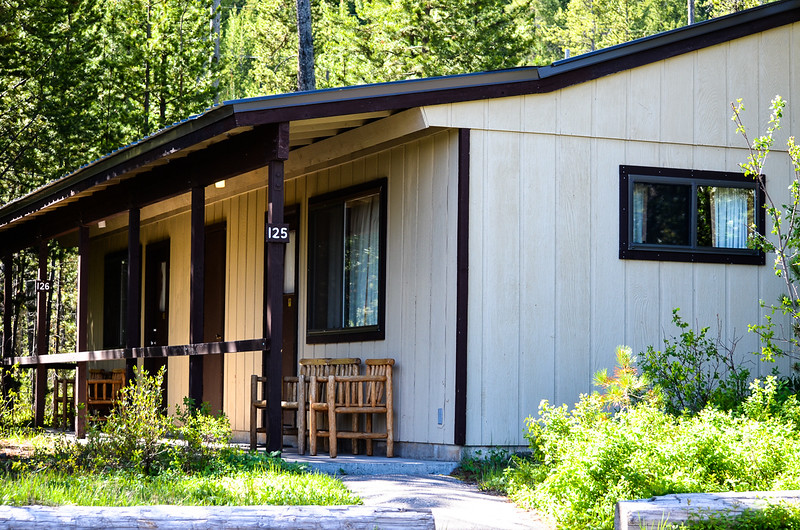 A place we stayed in Grand Tetons