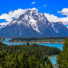 From Signal Mountain in Grand Teton National Park