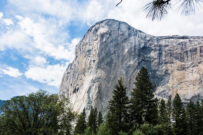 El Cap from a distance.