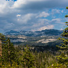 One view from Tioga Road on the way to Tuolumne Meadows