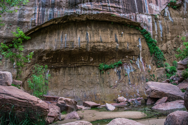 A smaller arch on the way to the Narrows