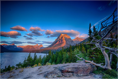 Sunrise Glacier National Park