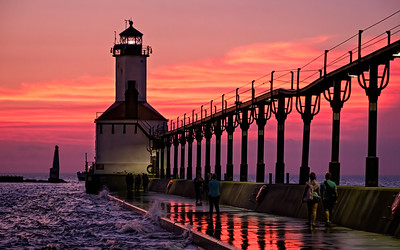25 Michigan City Lighthouse