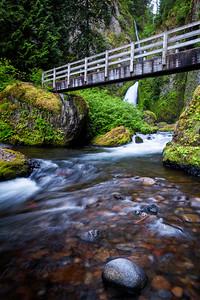 Waclella Falls and Bridge