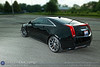 """A 2011 Black CTS-V Coupe, lowered with D3 springs, and sporting your 20"""" VVS-CV1 black/machined rim owned by Jeff Spridgeon, photographed for Vossen Wheels Friday evening June 17, 2011. (© James D. DeCamp   <a href=""""http://www.JamesDeCamp.com"""">http://www.JamesDeCamp.com</a>   614-367-6366)"""