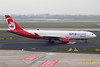 "D-ABXA Airbus A330-223 c/n 288 Dusseldorf/EDDL/DUS 05-03-14 Öne world"""