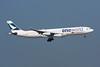 """B-HXG Airbus A340-313 c/n 157 Hong Kong-Chek Lap Kok/VHHH/HKG 20-11-10 """"One World"""""""