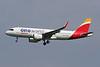 """EC-NFZ Airbus A320-251N c/n <a href=""""https://www.ctaeropics.com/search#q=c/n%2010002"""">10002 </a> Brussels/EBBR/BRU """"OneWorld"""""""