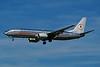 """N951AA Boeing 737-823 c/n 29538 Los Angeles/KLAX/LAX 08-03-04 """"Astrojet"""" (35mm slide)"""