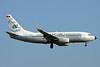 """YR-BGG Boeing 737-78J c/n 28442 Brussels/EBBR/BRU 28-08-16 """"Retro"""""""