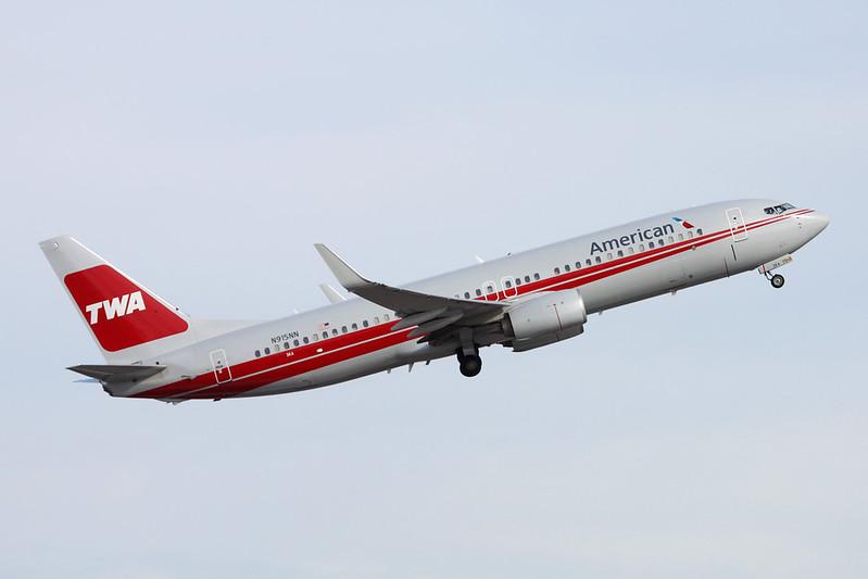 "N915NN Boeing 737-823 c/n 33227 Phoenix-Sky Harbor/KPHX/PHX 16-11-16 ""TWA"""