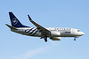 """YR-BGF Boeing 737-78J c/n 28440 Brussels/EBBR/BRU 27-05-13 """"Skyteam"""""""