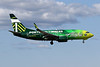 "N607AS Boeing 737-790 c/n 29751 Anchorage-International/PANC/ANC 07-08-19 ""Portland Timbers"""