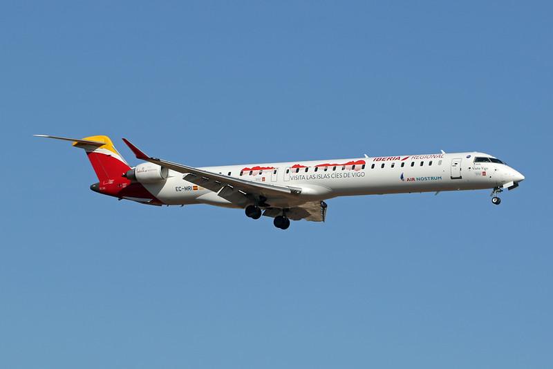 "EC-MRI Canadair Regional-Jet 1000 c/n <a href=""https://www.ctaeropics.com/search#q=c/n%2019056"">19056 </a> Palma/LEPA/PMI 02-07-21 ""Visita Vigo"""