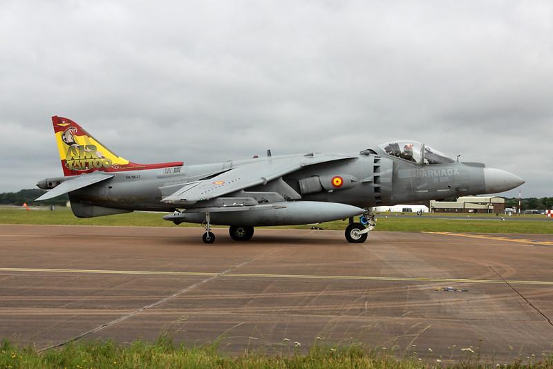 "VA.1B-37 (01-925) McDonnell-Douglas Harrier EAV-8B+ ""Spanish Navy"" c/n SR3 Fairford/EGVA/FFD 22-07-19 ""Air Tattoo"""
